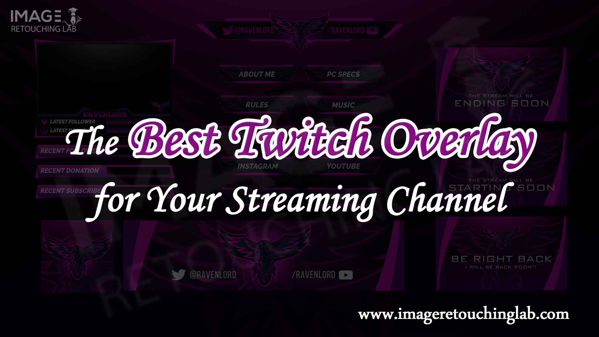 The Best Twitch Overlay for Your Streaming Channel