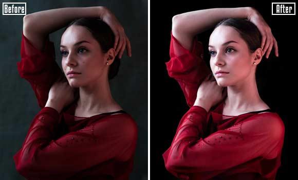Portrait-retouch