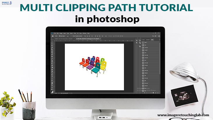 Multi clipping path tutorial in Photoshop