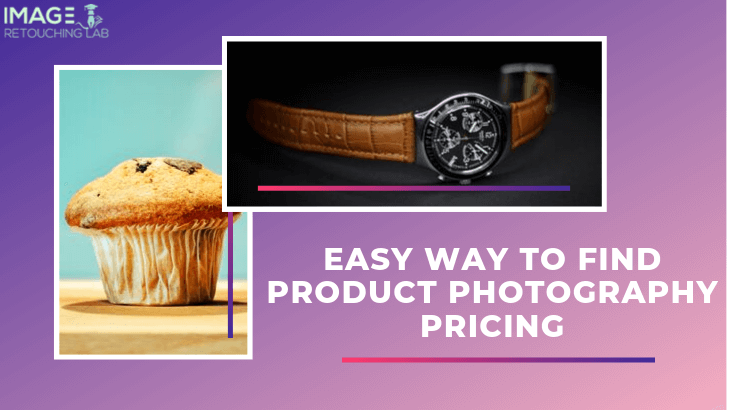 Easy way to find product photography pricing