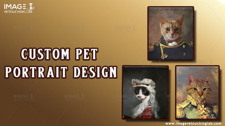Take A Look Custom Pet Portrait Design